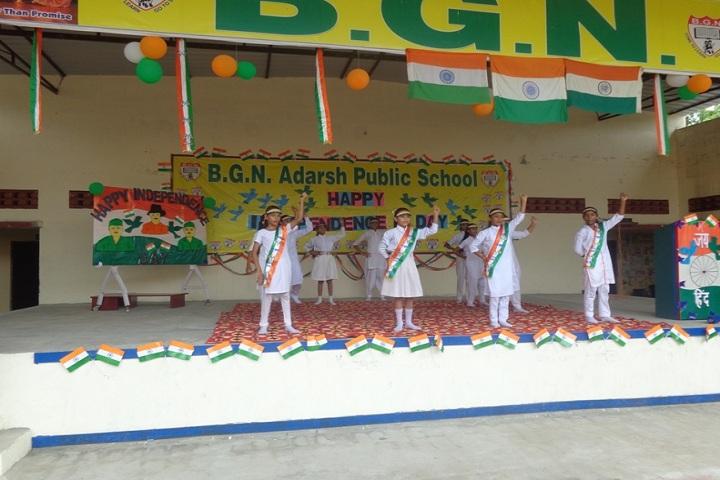 BGN Adarsh Public School-Events independance day