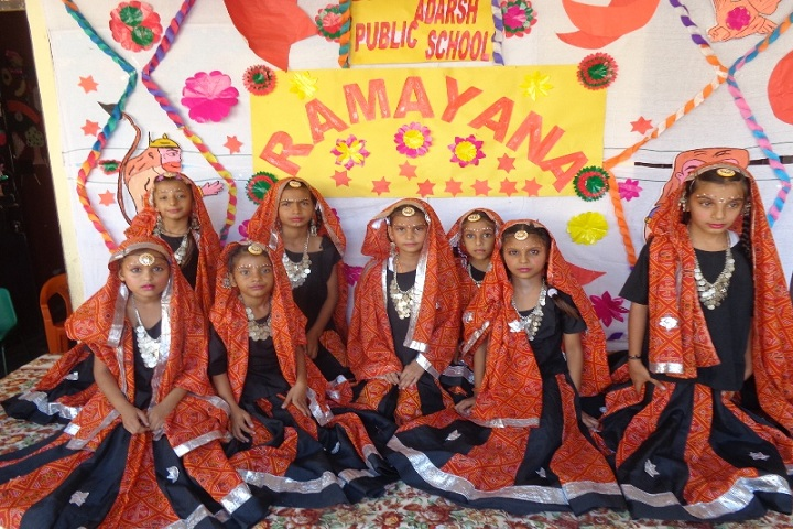 BGN Adarsh Public School-Events ramayana