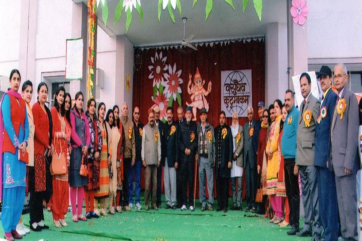 BSMSD Rajput Public School- Faculty