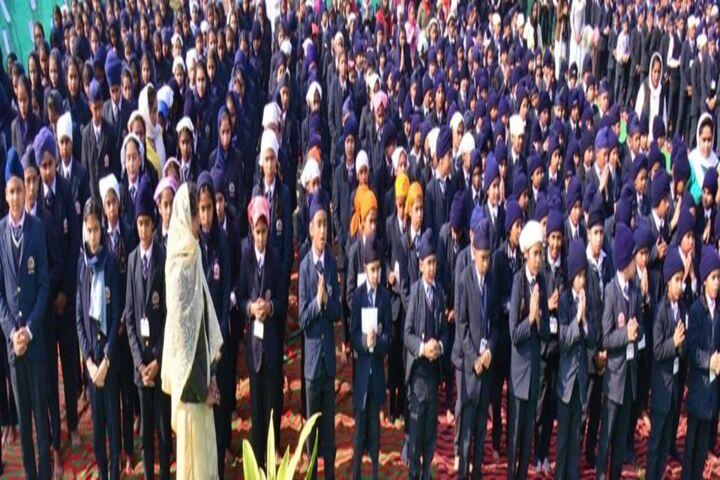 Baba Aya Singh Riarki Public School-Assembly