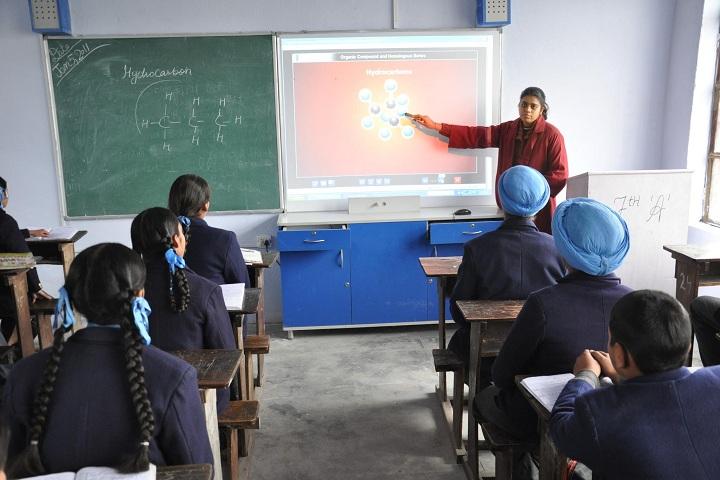 Baba Banda Singh Bahadur Public School-Classroom smart