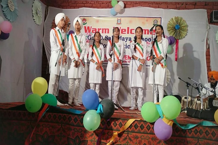 Baba Deep Singh Public School-Events independance day