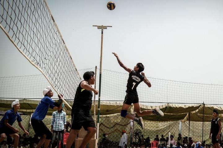 Baba Deep Singh Public School-Sports vollyball