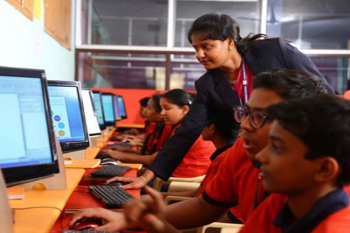 Akshara Vaagdevi International School-Computer Lab