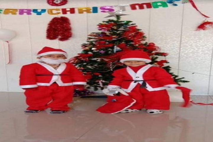 Akshara Vaagdevi International School-Christmas Celebrations
