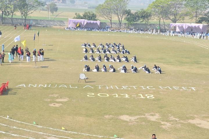 Baba Gandha Singh Public School-Events sports day programme