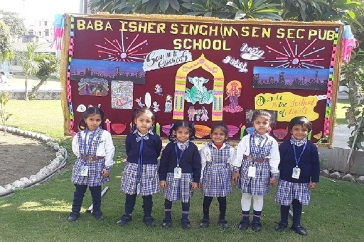 Baba Isher Singh Nanaksar Senior Secondary Public School-Diwali Celebrations