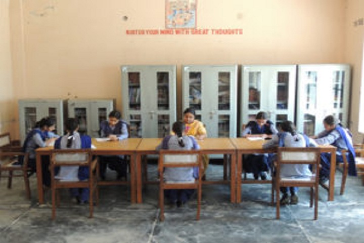 Baba Isher Singh Nanaksar Public School-Library with reading room