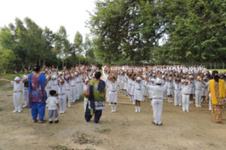 Baba Isher Singh Nanaksar Public School-Assembly