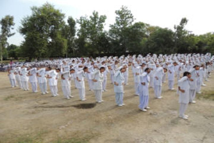 Baba Isher Singh Nanaksar Public School-Yoga