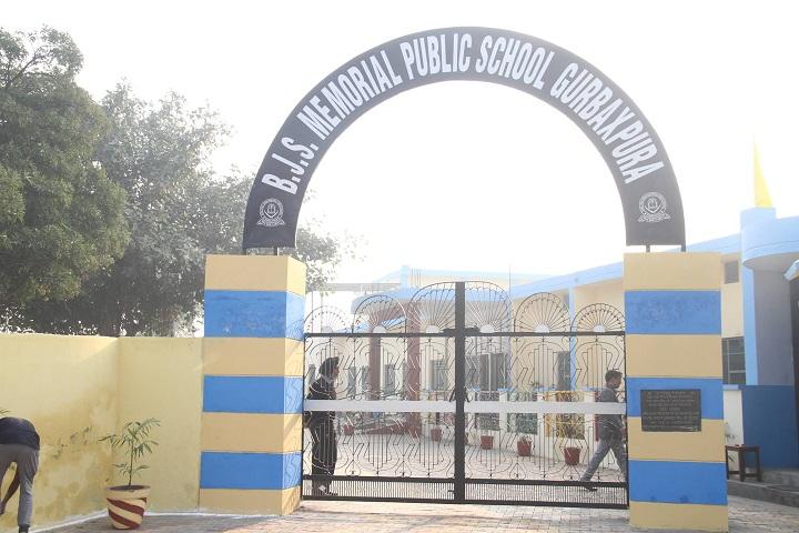 Baba Jora Singh Memorial Public School-Campus-View entrance