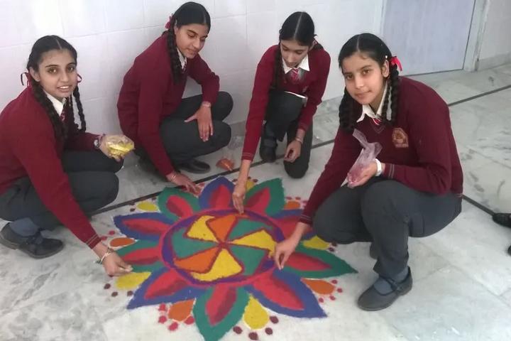 Baba Shri Chand Public School-Rangoli