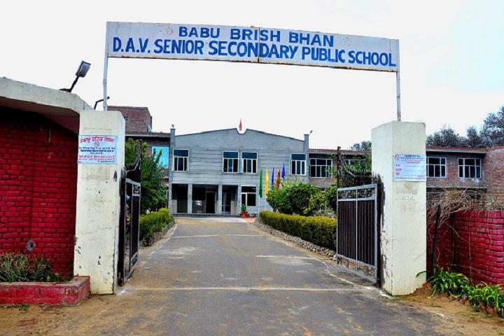 Babu Brish Bhan DAV Public School-View Entrance