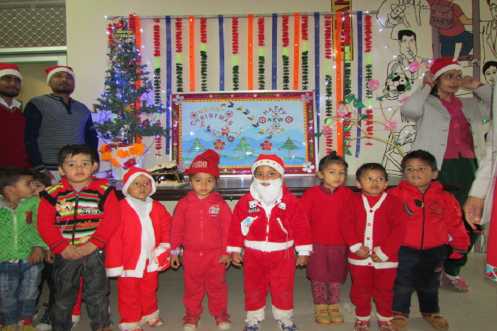 Babu Brish Bhan DAV Public School-Christmas Celebration