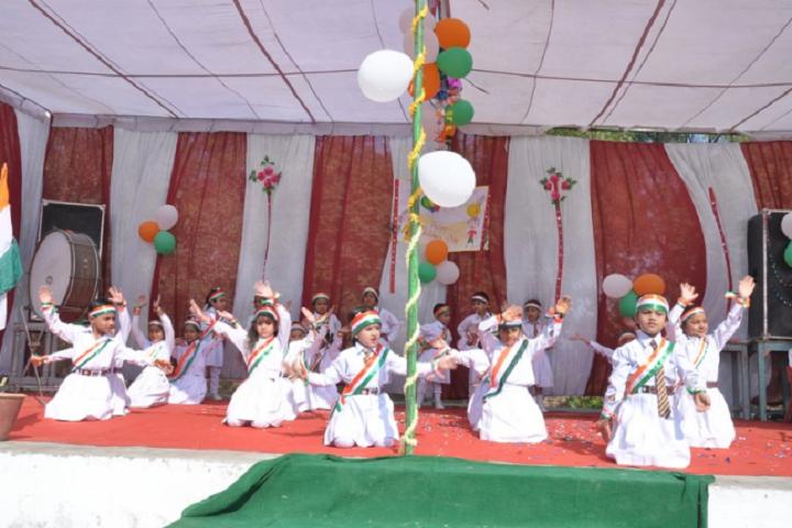 Babu Brish Bhan DAV Public School-Independance Day