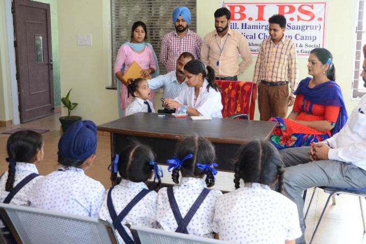 Bachpan International Public School-Medical checkup