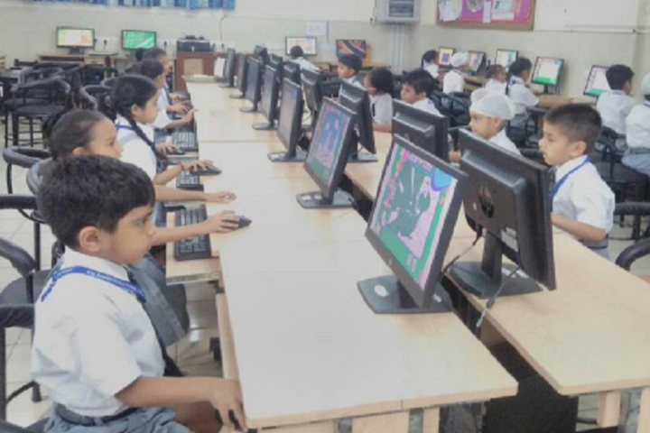 Bal Bharati Public School-IT-Lab