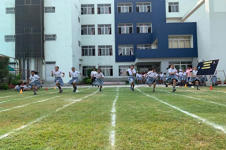 Bal Bharati Public School-Sports running