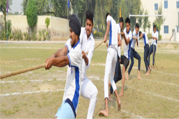 Bal Mandir Model Senior Secondary School-Games