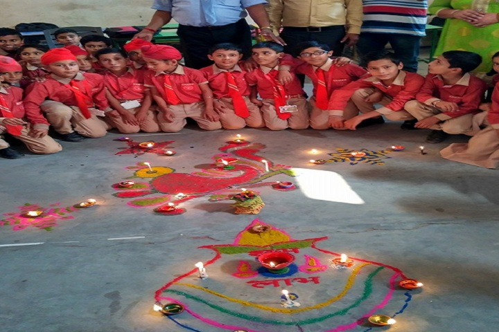 Bal Vatika Public School-Diwali