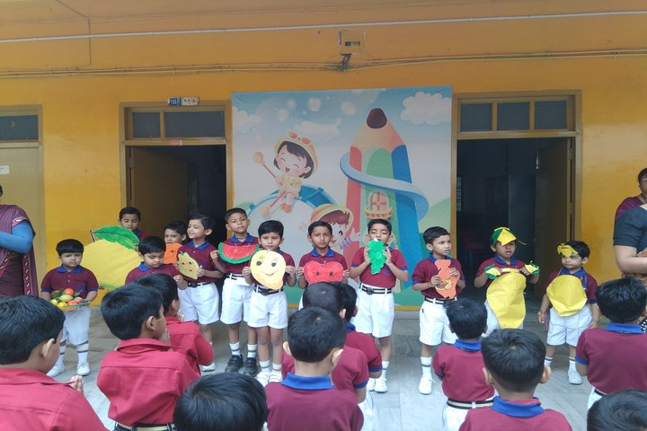 Gyan Niketan-Fruits Day Celebrations