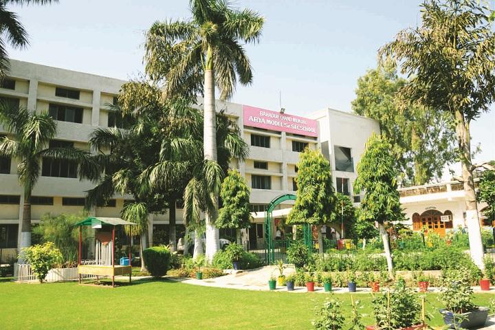 Bcm Arya Model School-Campus View