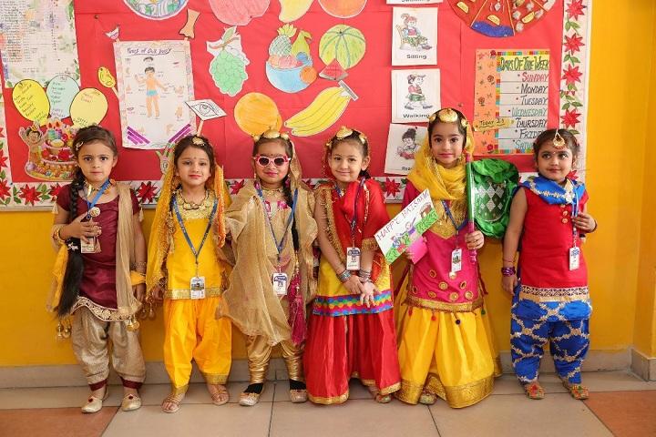 BCM Arya Model Senior Secondary School - Fancy Dress Activity