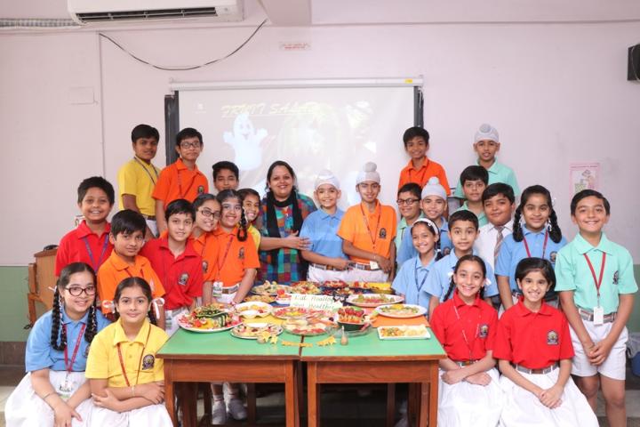 BCM Arya Model Senior Secondary School - Fruit Party 2018
