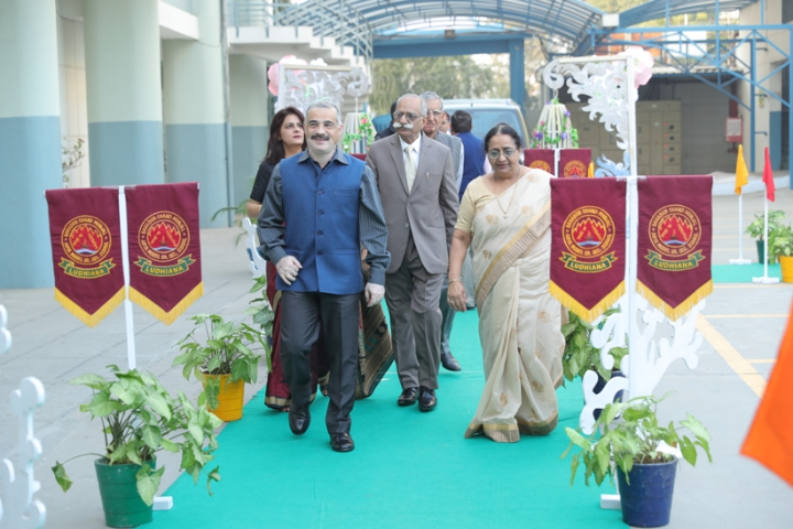 BCM Arya Model Senior Secondary School - Chief Guest in Annual Function Ceremony