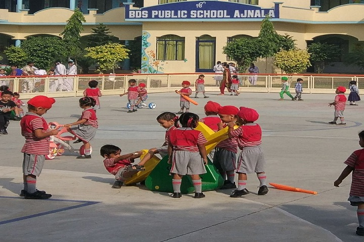 BDS Public School-Campus-View with playground
