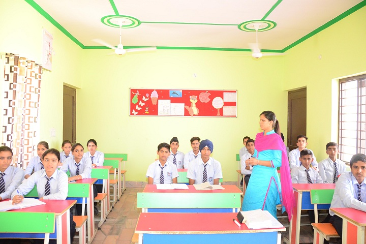 Bhai Mohri Ji Memorial Public Senior Secondary School-Classroom