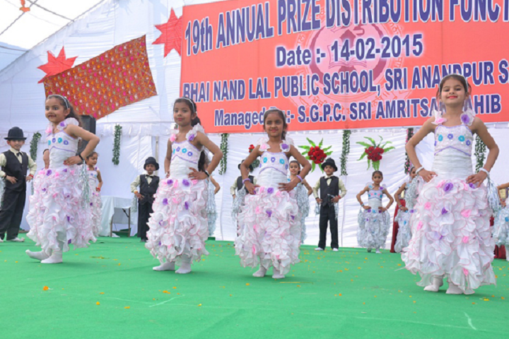 Bhai Nand Lal Public School-Events function
