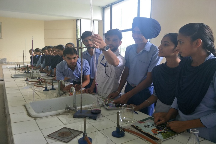 Bhai Nand Lal Public School-Laboratory