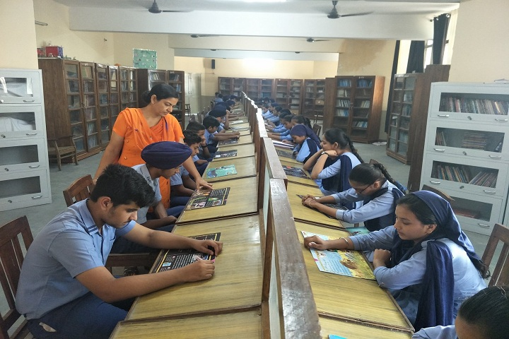 Bhai Nand Lal Public School-Library