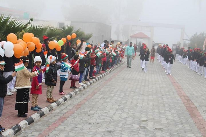 Bhai Roop Chand Convent School-Events republic day