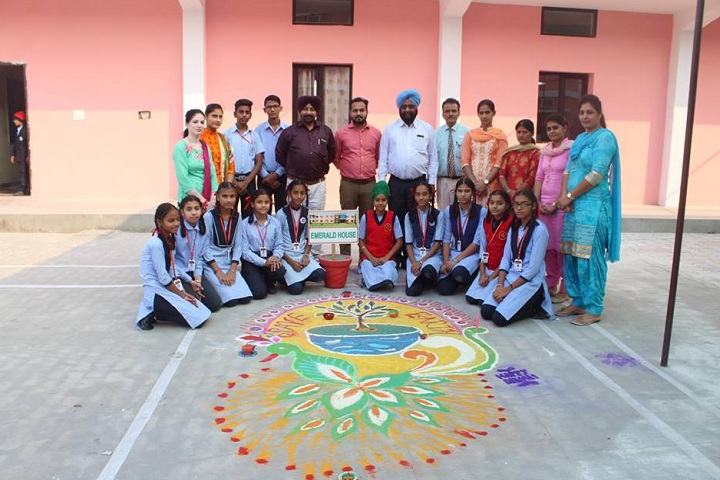 Bhai Roop Chand Convent School-Others rangoli