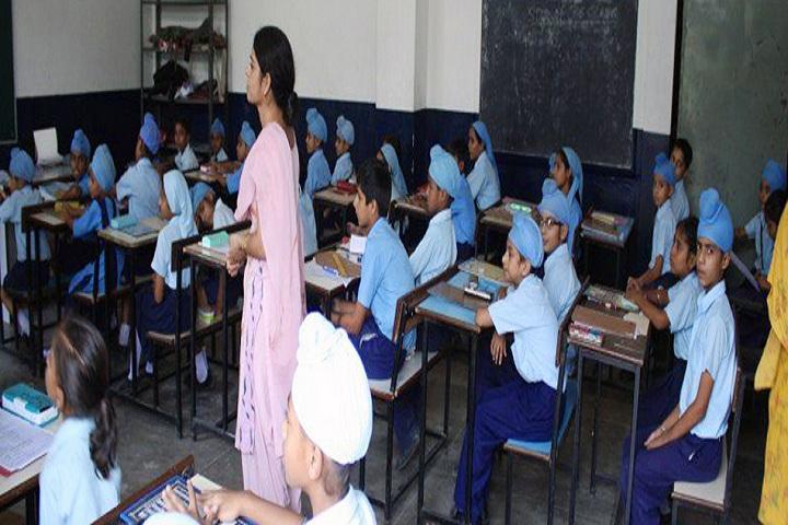 Bhai Sahib Randhir Singh Academy-Classroom