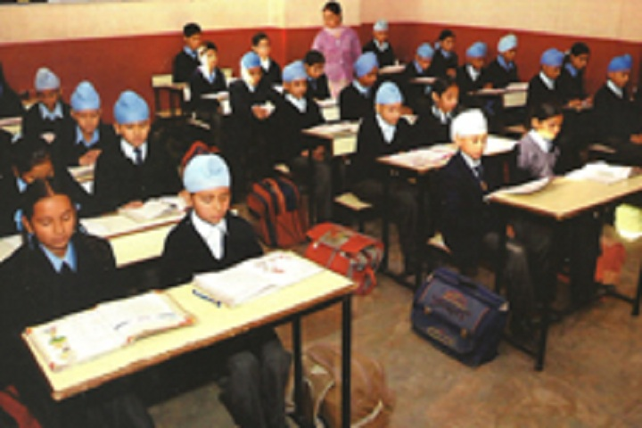 Bhai Sahib Randhir Singh Academy-Classroom with students