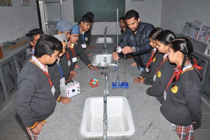 Bhartiya Public School-Laboratory