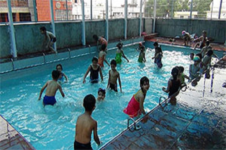 Bhartiya Vidya Bhawan Sachan Lal Public School-Swimming pool