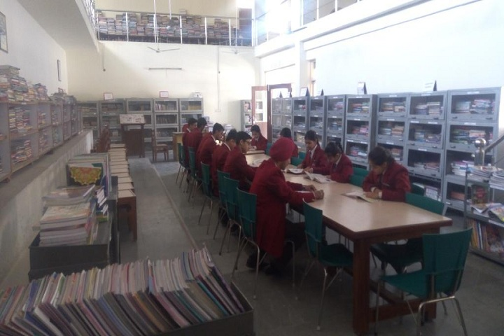 Bhupendra International Public School-Library