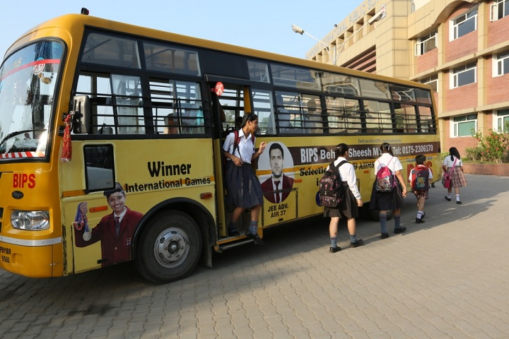 Bhupendra International Public School-Transport