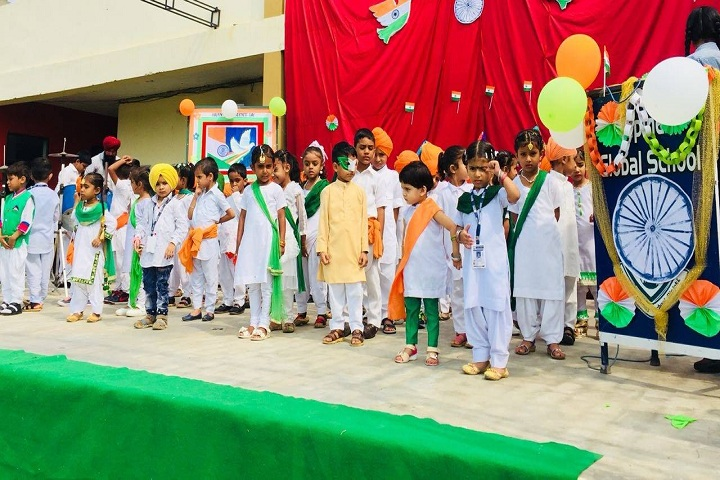Bhupindra Global School-Events independance day