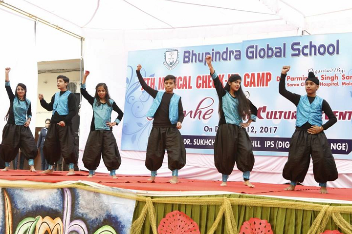 Bhupindra Global School-Events programme