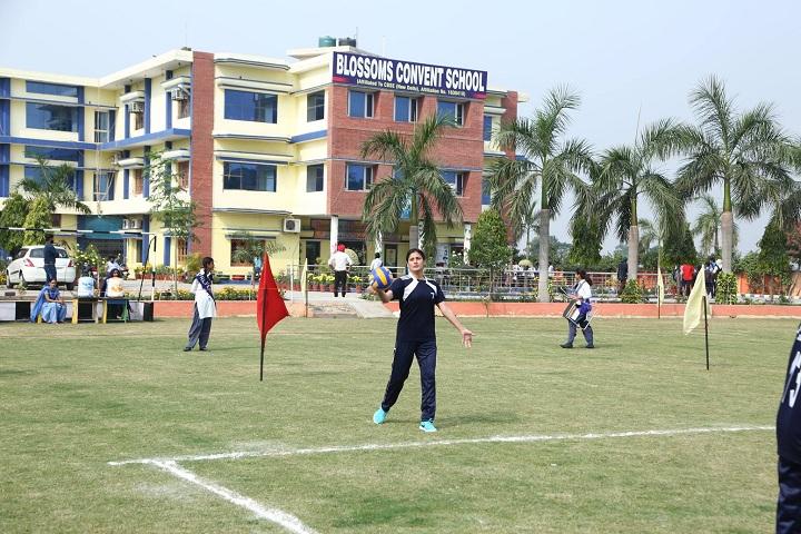 Bloosom Convent School-Campus-View front