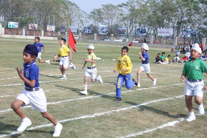 Bloosom Convent School-Sports running