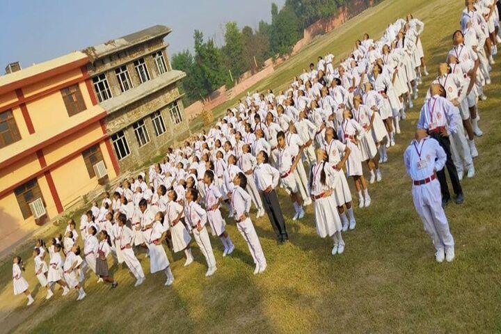Brahmrishi Mission School-Physical Tranining