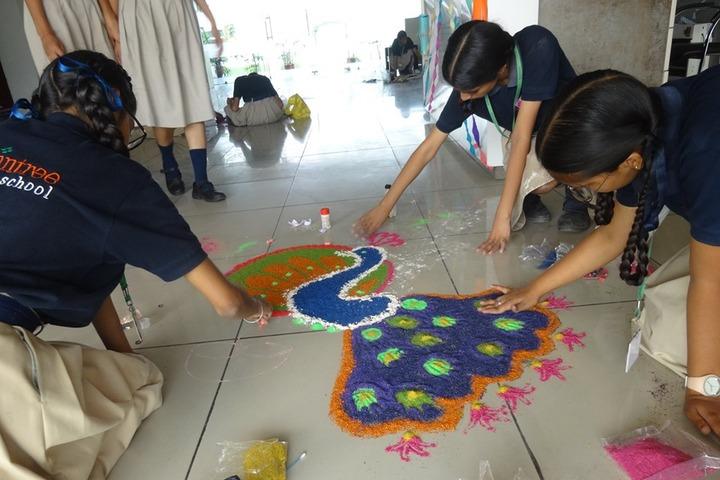 Braintree World School-Rangoli Competition