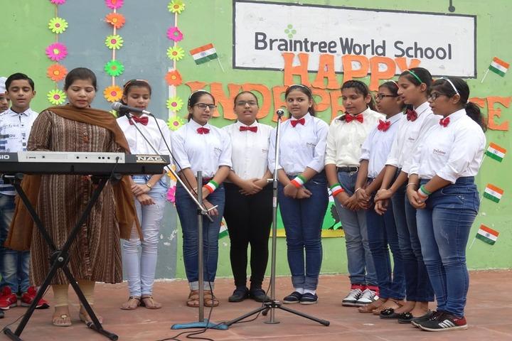 Braintree World School-Singing