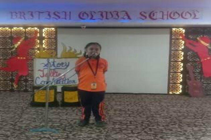 British Olivia School-Story Telling